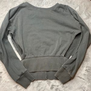 Lightweight sweater with cut out sides
